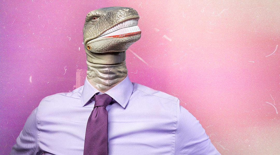 Pourquoi Julien l'informaticien devient il un dinosaure ?