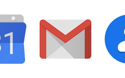 Google Mail – Contact – Agenda – Hangout