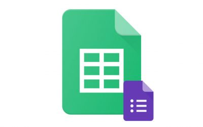Google Sheets/Forms : Initiation